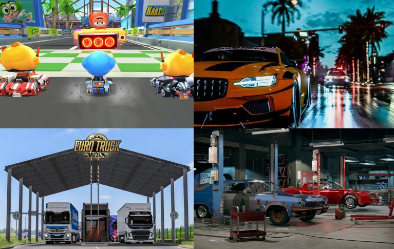 宅在家的哥们:推荐你们玩这些汽车游戏_卡车