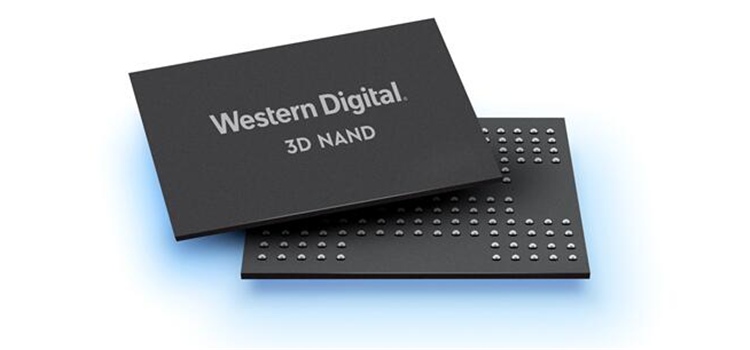 西部数据宣布新技术,每片晶圆的储存容量提高了40%