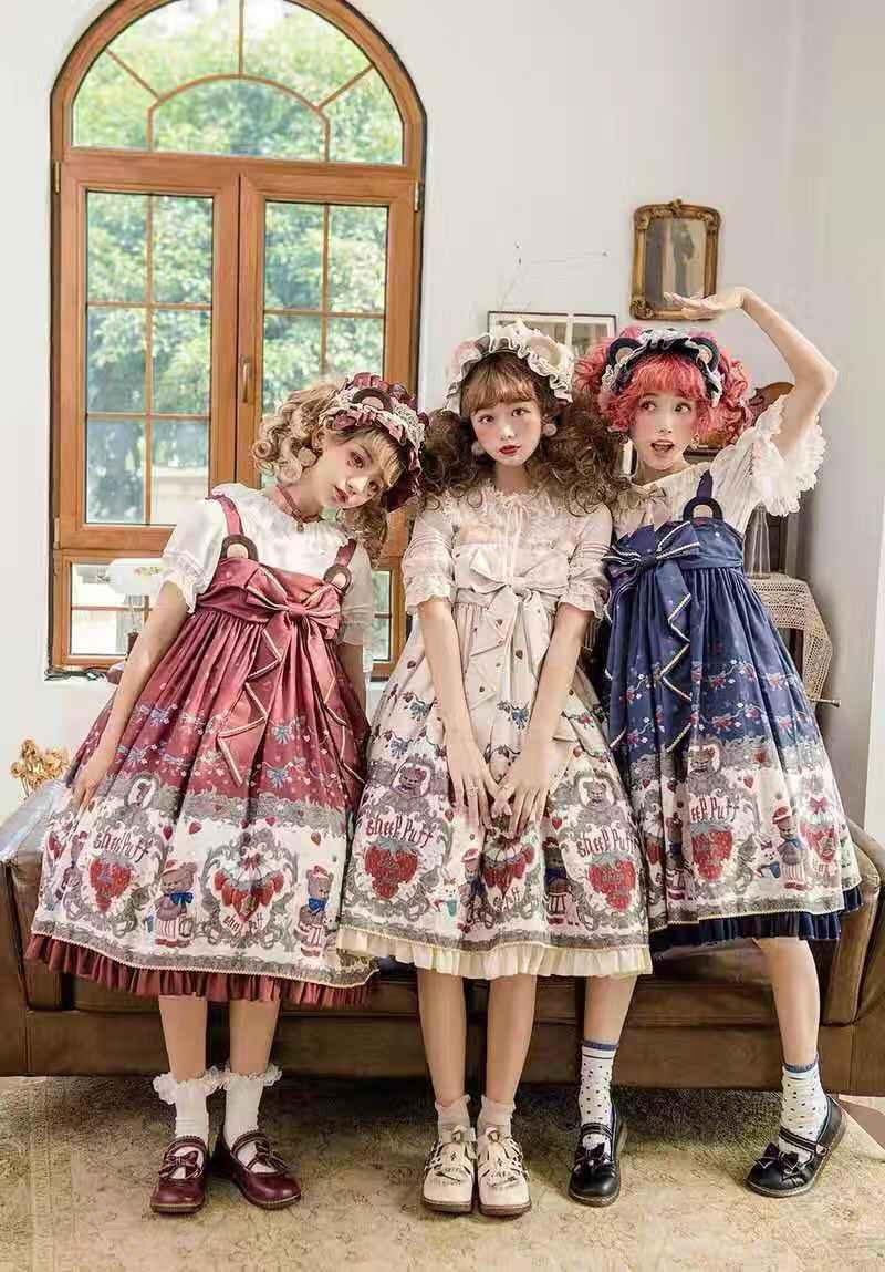 Lolita服饰太夸张不敢入门?——这几款lo裙日常也能穿