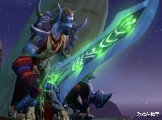 魔兽世界怀旧服蓝色光剑图片