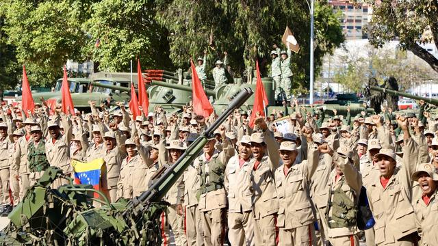 委内瑞拉230万人进行军事演习,马杜罗发誓捍卫主权
