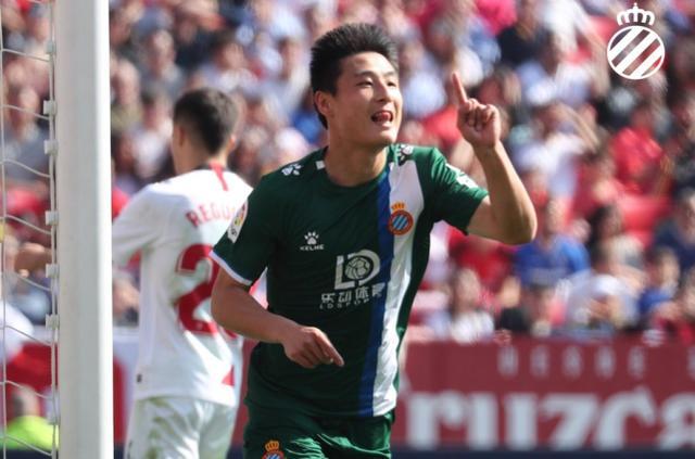 5胜4平!武磊成西班牙人锦鲤 他进球的比赛球队没输过