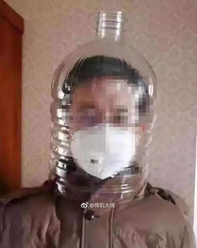 中山坦洲民警自制防护面罩 硬核防疫只需1块5