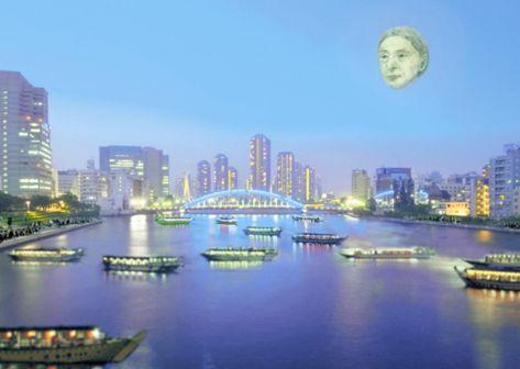 """7层楼高,神秘梦幻......奥运期间的东京上空将浮现巨型""""人脸"""""""