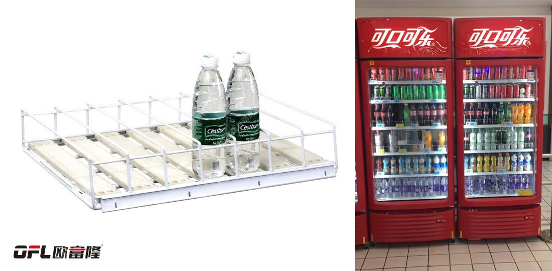 冰柜重力滑道如何解决传统陈列难题?