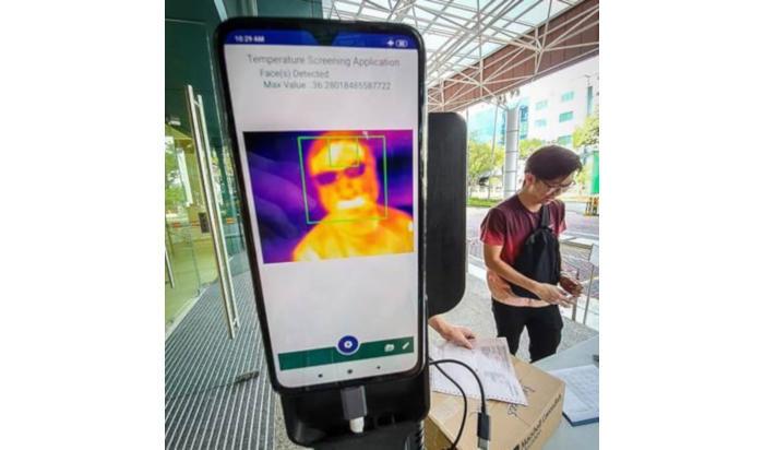 新加坡部署红外测温产品iThermo,硬件简易还是AI的