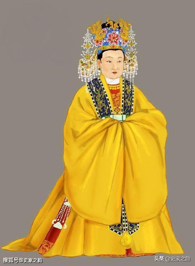 朱元璋是马皇后,朱棣是徐皇后.