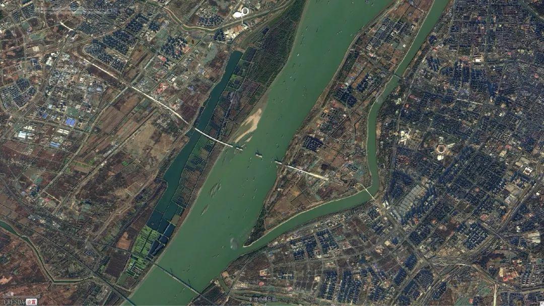 长江江猪图片_2020年,长江五桥是时候高调了!_南京