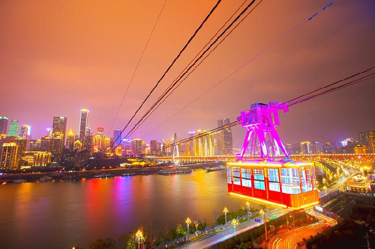 长江索道恢复运行后 全国医护工作者可免费乘坐