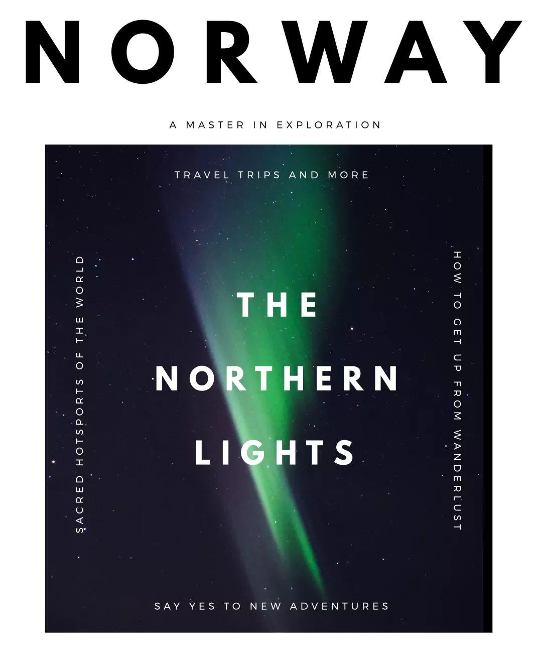 挪威,北方以北的追光人