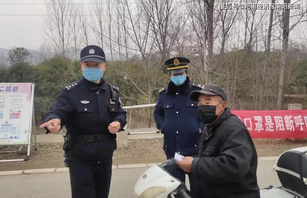 南召县局马理柱:为使命而战 守护一方平安