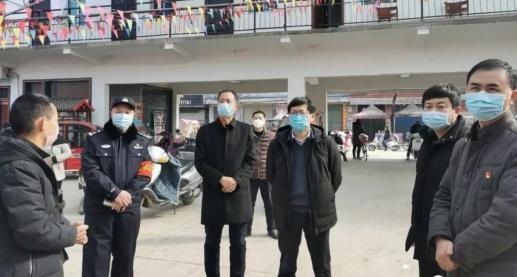 """河南新野县政府领导深入""""疫""""线督导疫情防控工作"""