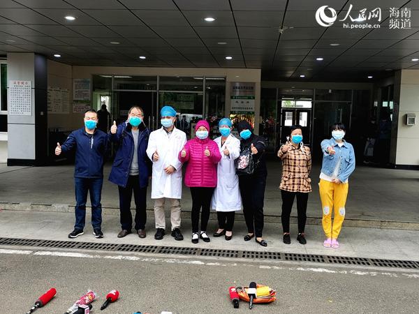 海南省首例危重症、重症新冠肺炎患者治愈出院