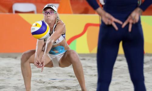 原创            沙滩排球为何只穿比基尼?频频走光,除了因为钱,还有两个原因!