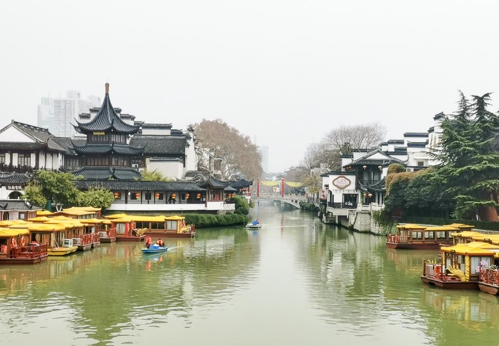 <b>威尼斯太远,南京秦淮河的水街一样迷人,可惜被很多人错过</b>