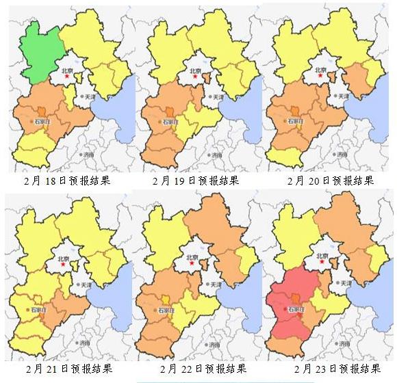 河北本周污染形势预测!20日部分城市可能出现短时中度污染