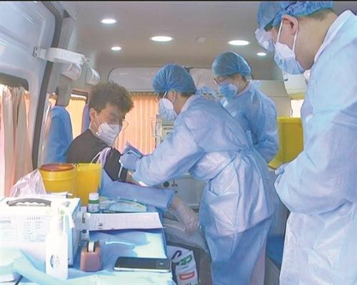 晋中市新冠肺炎康复者捐献血浆传递爱