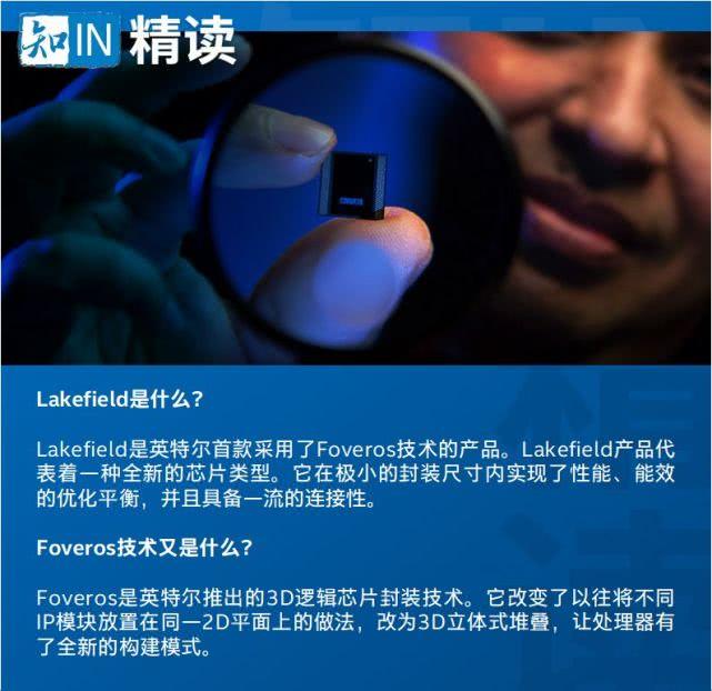 指尖上的英特爾Lakefield:采用備受贊譽的Foveros 3D封裝技術