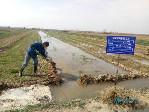陕西省宝鸡峡灌区错峰上班复工,启用12座灌站抗春旱