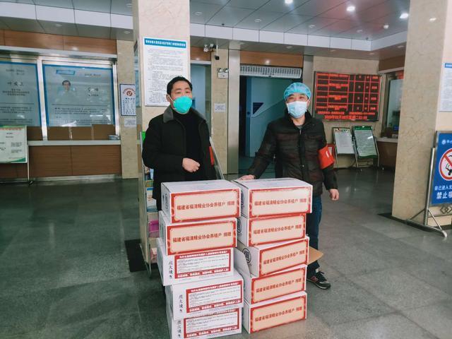 民革福建省委会委托民革鄂州市委会向医疗单位捐赠鳗鱼2000公斤