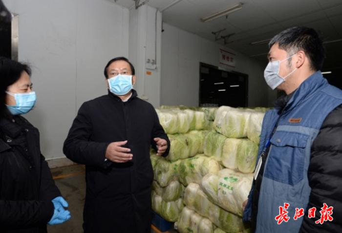 王忠林:生活必需品快捷送社区,不让居民饿着肚子搞防控