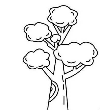 花和树木简笔画 摘自最新版儿童绘画大全 赶紧教孩子吧