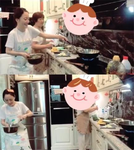 李小璐罕见秀厨艺,被热油溅到夸张尖叫,旁边阿姨的表情太抢镜 作者: 来源:猫眼娱乐V