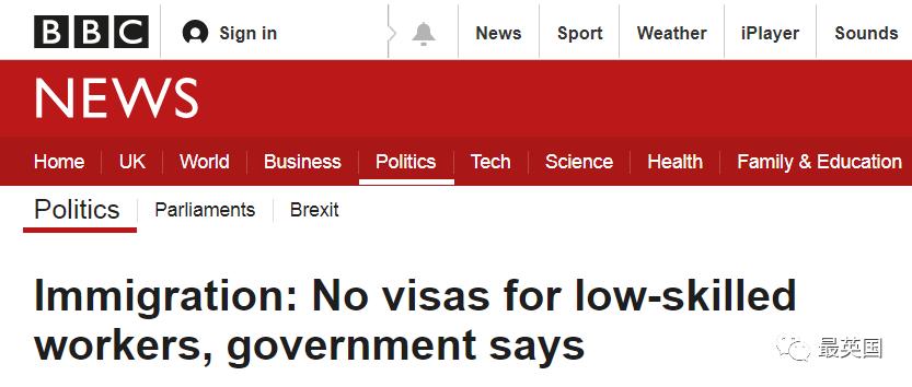 鲍里斯重磅:欧盟、低技能退出英国历史舞台,全新积分制亮相,非欧盟的我们机会来了!_英国新闻_英国中文网