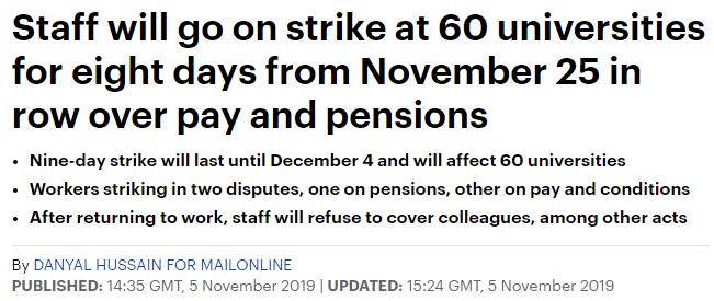 这74所英国大学又罢工,快来看有你的学校吗?_英国新闻_英国中文网