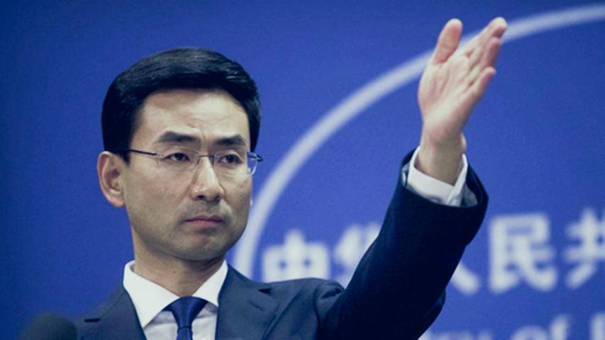 中国外交部发言人反问蓬佩奥:被辱骂者有没有还击的权利?