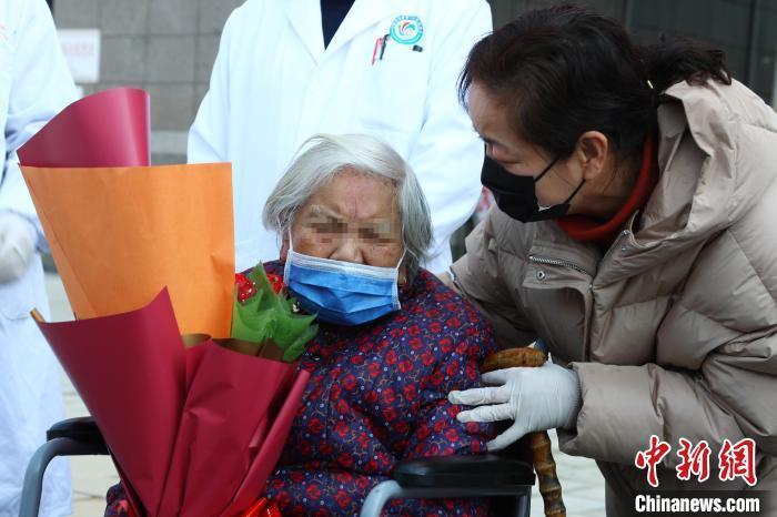 北京同济医院90岁!江西省最大年纪新冠肺炎患者治愈出院