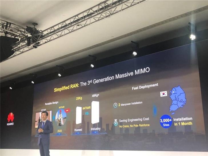 华为:已获得91个5G商用合同,5G基站发货超60万