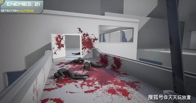 一款结合暴力、射击于一身的第一人称动作游戏,《剑与酱汁》