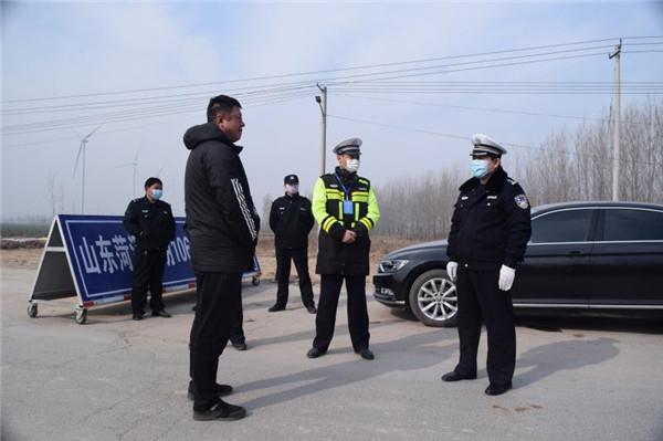 东明县公安局副局长朱卫东:我是党员我带头疫情在哪我坚守