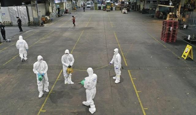 """韩国宣布紧急设立疫情""""特管区"""",大邱250万人在家隔离"""