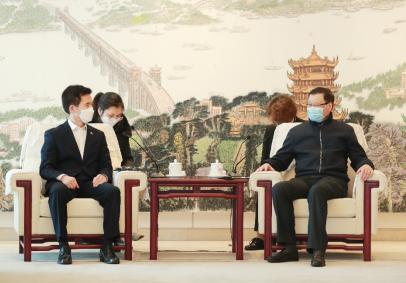 在这个非常时期,应勇会见了韩国、法国驻汉总领事_法国新闻_首页 - 法国中文网