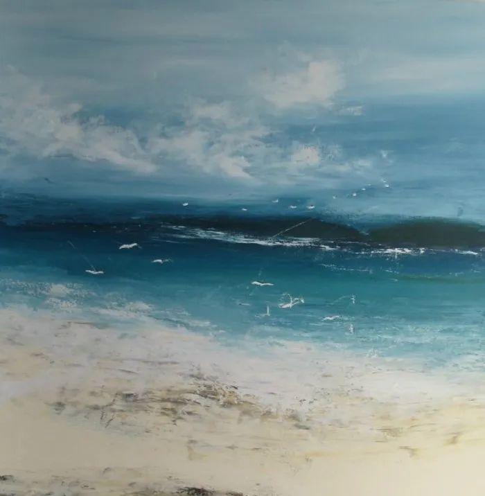 海洋和风景表现主义,英国艺术家海蒂·皮特曼_英国新闻_英国中文网