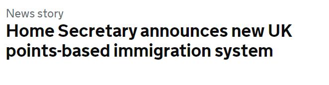 英国新积分移民系统明年上线!听说连欧洲人也要拿工签了?!_英国新闻_英国中文网