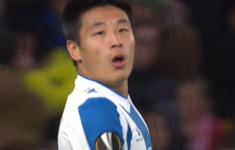 欧联超级惨案!西班牙人0-4被打爆了,武磊