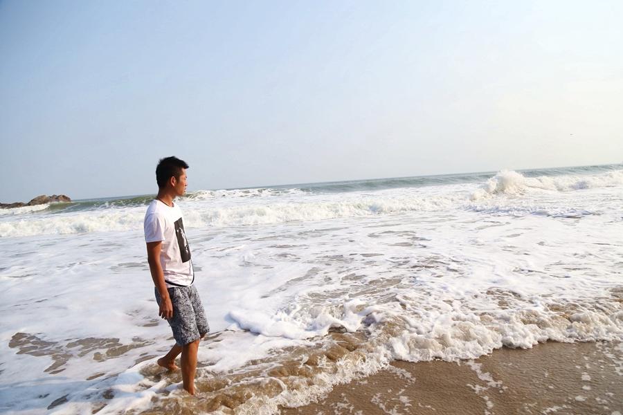 哈仙岛金沙滩浴场