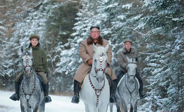 朝鲜从俄罗斯进口12匹纯种马,供金正恩骑行白头山