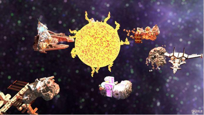 《我的世界》里玩了7年老建造师有多强游戏里面也能造太阳