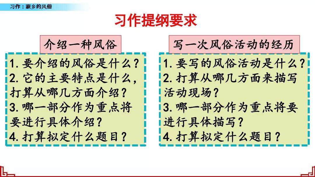 藏戏的三大特点_部编版六年级下册语文习作一《家乡的风俗》微课视频+同步练习 ...
