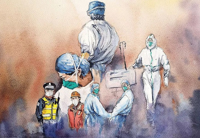 藝術能抗擊疫情嗎?看看古畫中的瘟疫