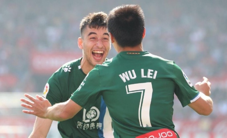 西媒:武磊将连续第3场首发!有望连场进球,西班牙人迎生死战