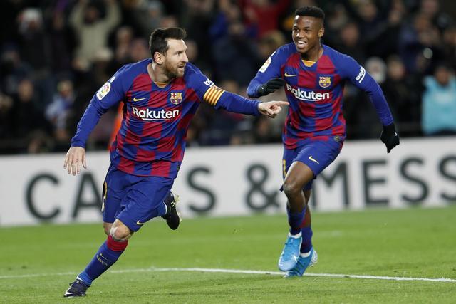 原创             西甲直播:巴塞罗那VS埃瓦尔视频直播地址,梅西专注烙饼争取进球