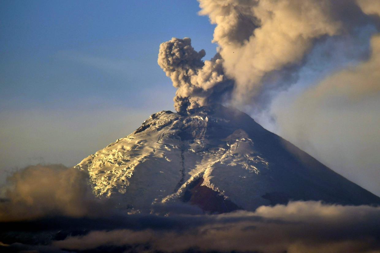 表现最为激烈的自然灾害,地震和火山喷发之间有没有什