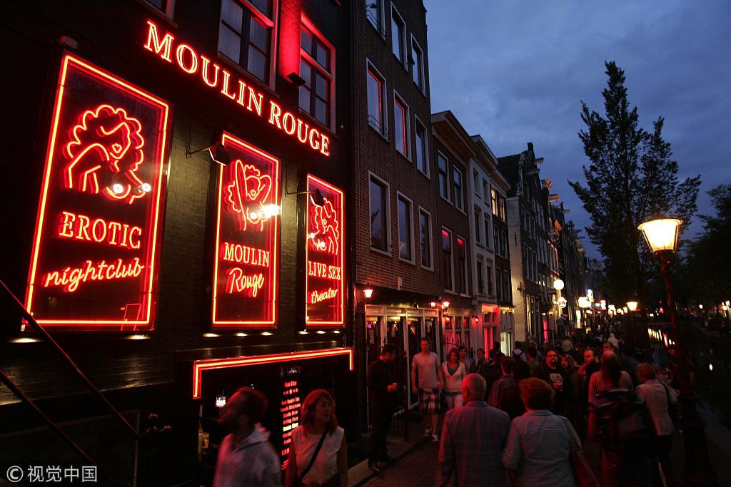 """因游客""""不尊重""""性工作者,荷兰禁止旅游团参观红灯区!"""