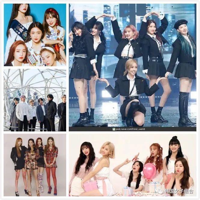 2月偶像組合品牌評價榜,女團占據TOP5中4位!