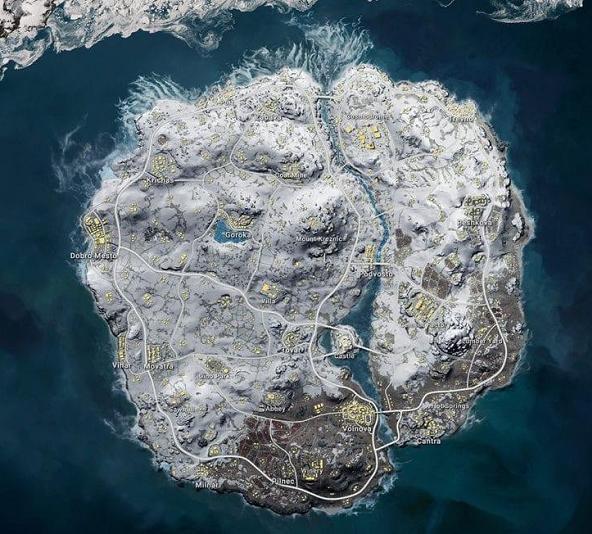 《绝地求生》吃鸡大改:雪地图重做即将归来,无限复活机制修改
